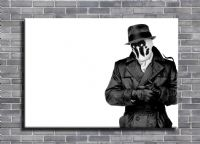 WATCHMEN - RORSCHACH WHITE canvas print - self adhesive poster - photo print